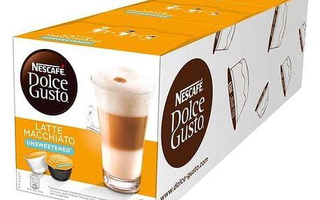 Kapsle pro espressa Nescafé Dolce Gusto Latté Macchiatto neslazené 3 balení