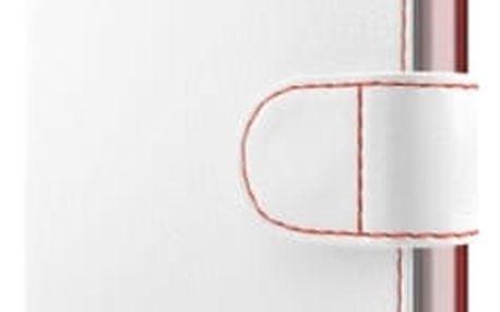 Pouzdro na mobil flipové FIXED pro Huawei Y5 II (FIXFIT-099-WH) bílé
