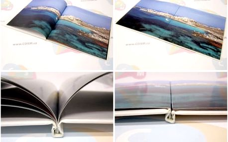 Kvalitní šitá fotokniha, formát A4 na výšku: na výběr 40 - 304 stran