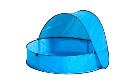 Dětský bazén Deryan Aibo cestovní pop-up modrý + Doprava zdarma