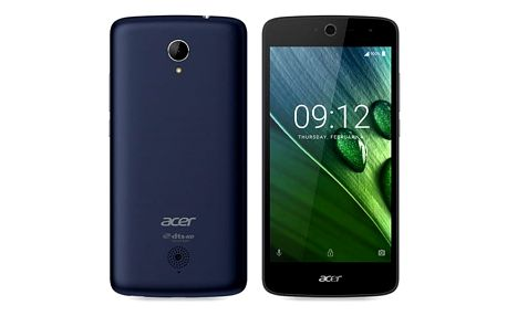 Acer Liquid Zest LTE Black (+ kryt White)