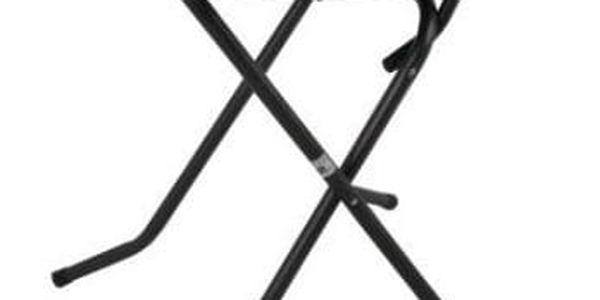 Kovový stůl PIZARRA CROSSED ø 70 cm
