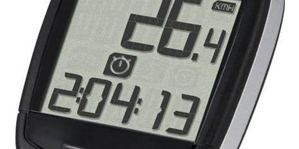Cyklopočítač Sigma Baseline 500 černý