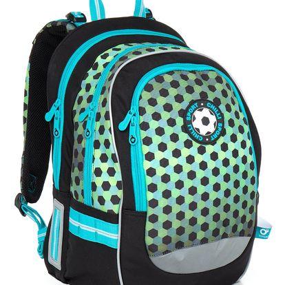 Školní batoh Topgal CHI 800 E - Green