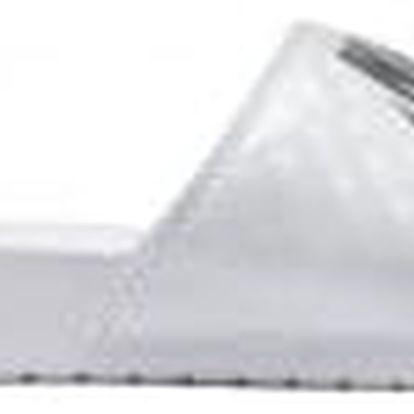 Dámské nazouváky Nike WMNS BENASSI JDI 39 WHITE/METALLIC SILVER