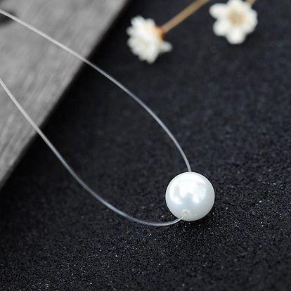 Neviditelný řetízek s perličkou