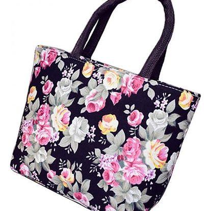 Dámská letní kabelka s květinovým vzorem - dodání do 2 dnů