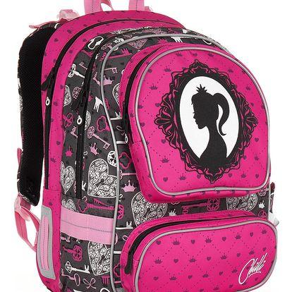 Školní batoh Topgal CHI 875 H - Pink