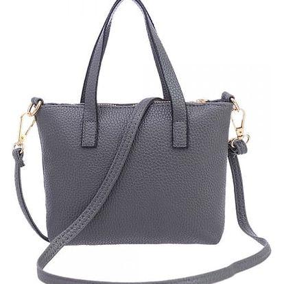Dámská kabelka v elegantním provedení a ve dvou barvách - dodání do 2 dnů