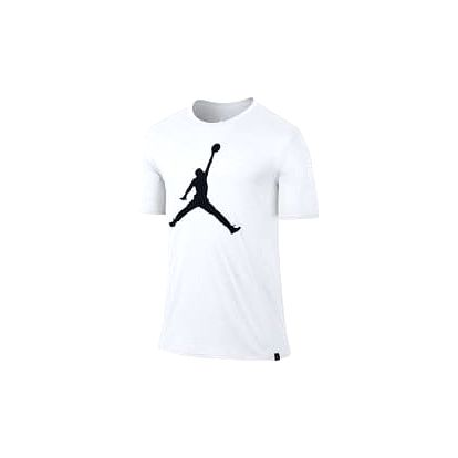 M jsw tee iconic jumpman logo L WHITE/BLACK