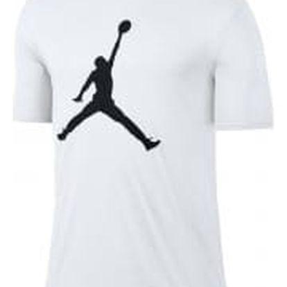 M jsw tee iconic jumpman logo L WHITE/BLACK