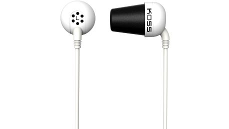 KOSS The Plug, bílá - The Plug W (24 měsíců)