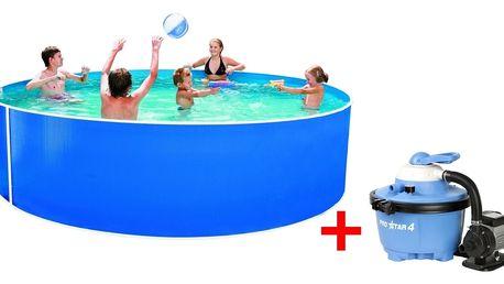 Marimex Bazén Orlando 3,66x0,91 m s pískovou filtrací ProStar 4 a příslušenstvím - 19900044