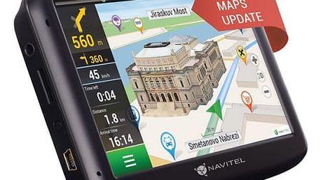 Navigační systém GPS Navitel E500 černá