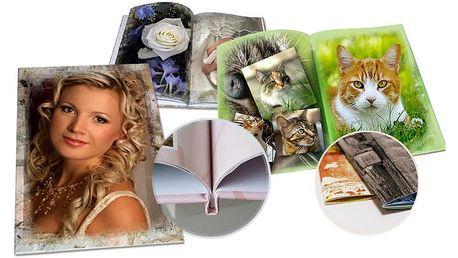 Luxusní fotokniha v různých formátech z vašich fotografií až o 150 stranách