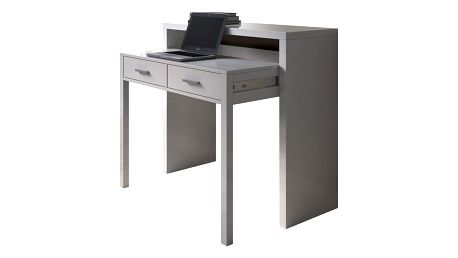 Šedý pracovní stůl 13CasaGranada - doprava zdarma!