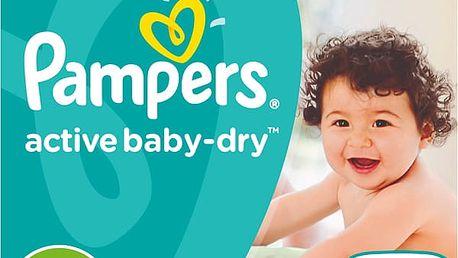 PAMPERS Active Baby 4+ Box 120ks (9-16 kg) - jednorázové pleny