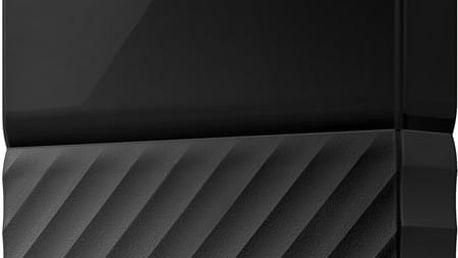 WD My Passport - 4TB, černá - WDBYFT0040BBK-WESN + SanDisk Cruzer Blade - 16GB