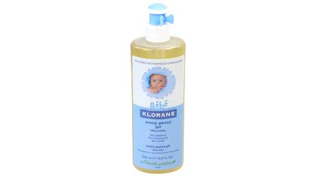 KLORANE BEBE Gel douc.mouss 500ml-jemný pěnivý gel