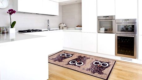 Vysoce odolný kuchyňský koberec Webtapetti Gufocaffe, 60x150 cm