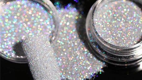 Okouzlující třpytky na nehty - více barev
