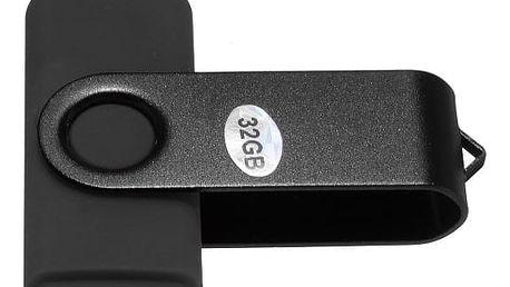 Micro USB flash disk 32 GB - černá - dodání do 2 dnů