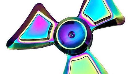 Antistresová hračka - duhový Fidget spinner