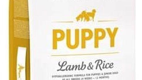 Granule Brit Care Puppy Lamb & Rice 12 kg Granule Brit Care Puppy Lamb & Rice 3 kg (zdarma) + Antiparazitní obojek za zvýhodněnou cenu + Doprava zdarma
