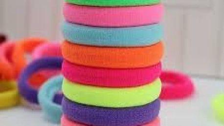20 kusů gumiček ve třech barevných variantách