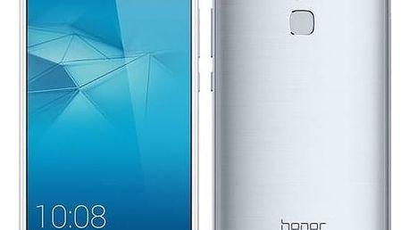 Mobilní telefon Honor 7 Lite Dual SIM (51090NYQ) stříbrný Voucher na skin Skinzone pro Mobil CZSoftware F-Secure SAFE 6 měsíců pro 3 zařízení (zdarma) + Doprava zdarma