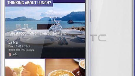 HTC Desire 628g, DualSim, bílá
