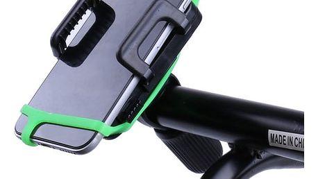 Univerzální držák telefonu na kolo či motocykl se silikonovým páskem proti pádu
