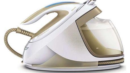 Žehlicí systém Philips PerfectCare Elite GC9640/60 bílá/zlatá + dárek