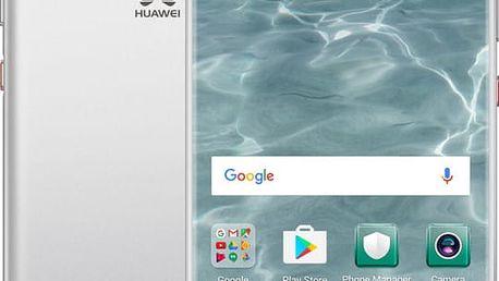 Huawei P10, Dual Sim, stříbrná - SP-P10DSSOM