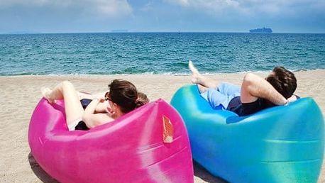 Cestovní spací pytel - modrá barva - dodání do 2 dnů