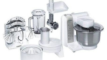 Kuchyňský robot Bosch MUM4880 šedý/bílý + Doprava zdarma