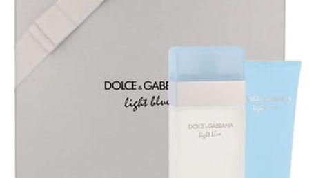 Dolce & Gabbana Light Blue dárková kazeta pro ženy toaletní voda 50 ml + tělový krém 100 ml