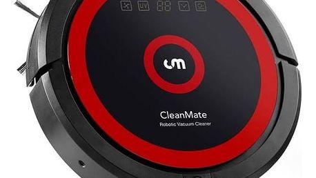 Vysavač robotický CleanMate QQ6S černý + Doprava zdarma