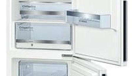 Kombinace chladničky s mrazničkou Bosch KGE39DW40 bílá