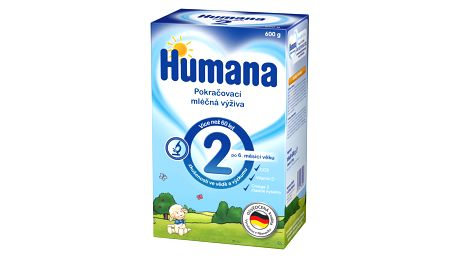 Expirace 8.6.2017: HUMANA 2 (600 g) - kojenecké mléko