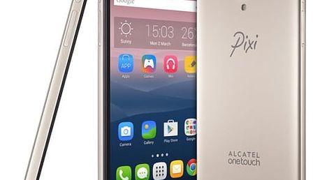 Mobilní telefon ALCATEL PIXI 4 (6) 8050D (8050D-2CALE11) zlatý