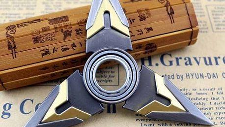 Fidget spinner - imitace šurikenu