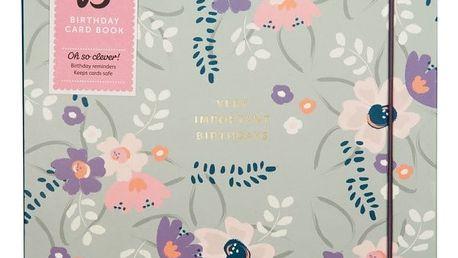 Narozeninový organizér Busy B Floral