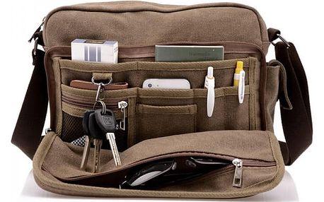Multifunkční pánská taška přes rameno
