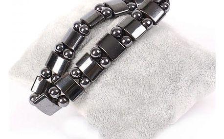 Přírodní magnetický náramek pro snadné hubnutí