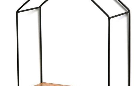 Nástěnná polička Versa House Shape
