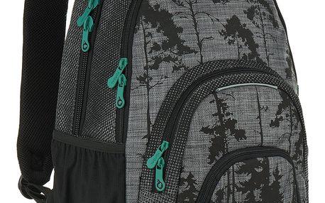 Studentský batoh Topgal HIT 896 C - Grey