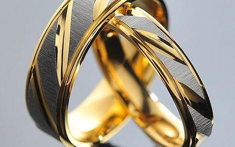 Snubní prsten - dámská i pánská verze