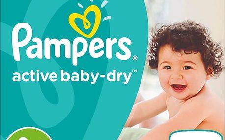 PAMPERS Active Baby 4+ Mega Box MAXI PLUS 120ks (9-16 kg) - jednorázové pleny