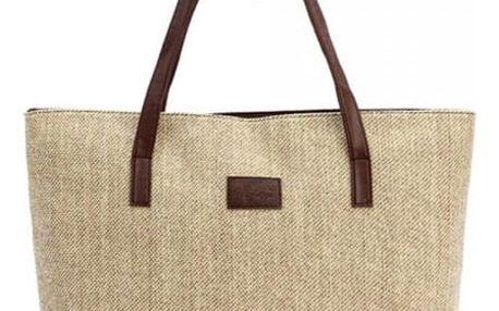 Prostorná kabelka v ležérním stylu - dodání do 2 dnů